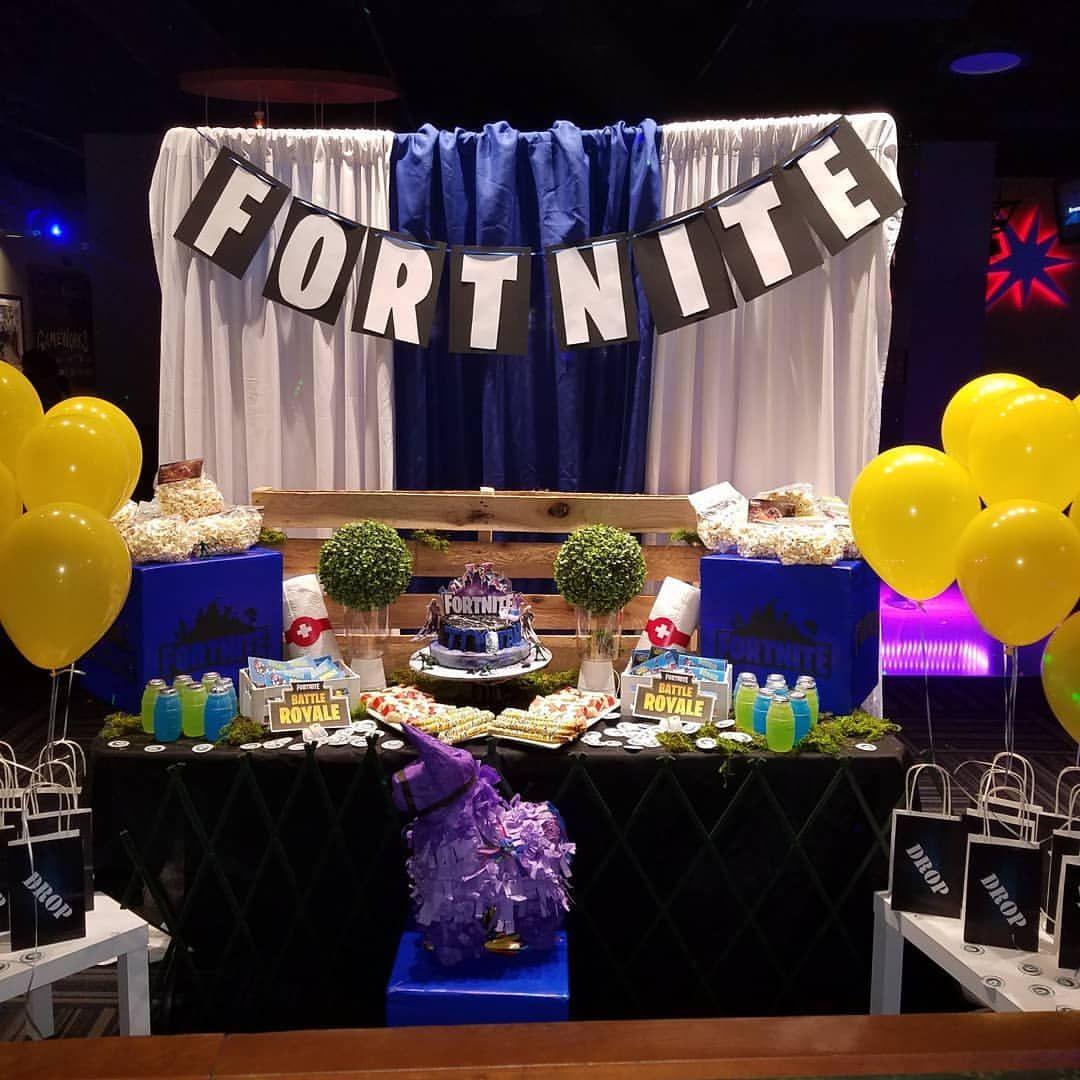 Fortnite Birthday Party Fortnite Birthday Events