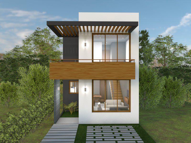 Planos de casa para terreno peque o con medidas house - Terreno con casa ...