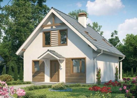 planos de casas modernas tipo chalet