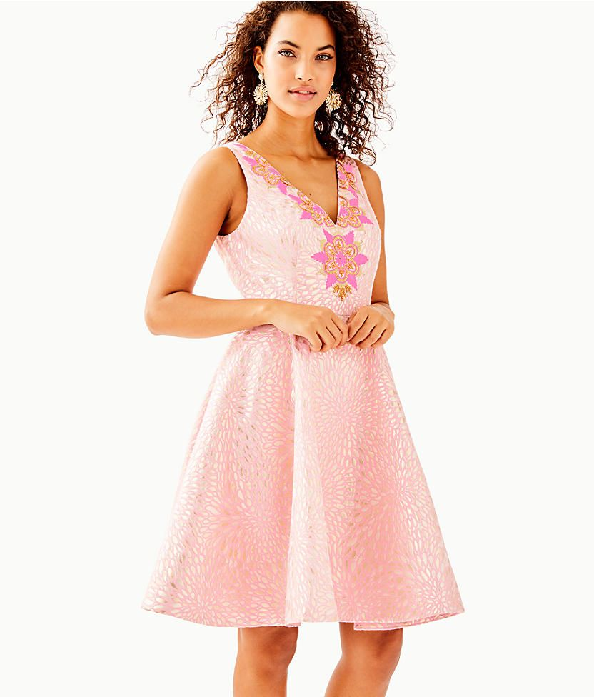 ef64c1ef441 Elanie Fit And Flare Dress