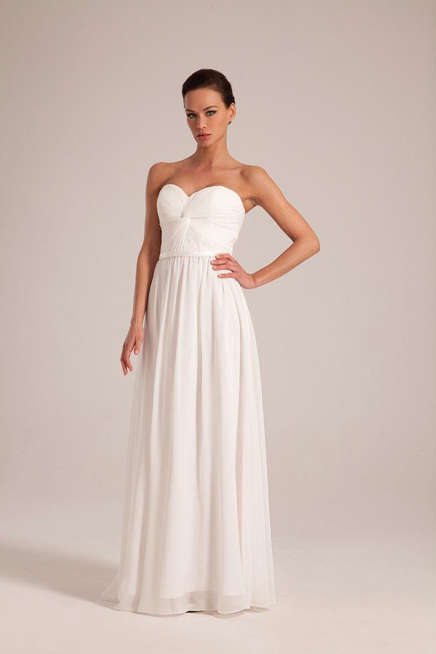 caa1597741b robe de mariée fluide bustier