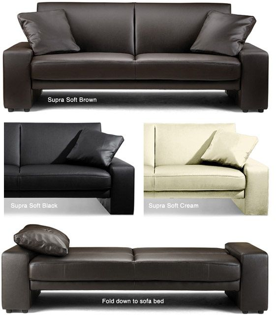 Brand New Supra Faux Leather Sofa Bed Special 134 99 Faux Leather Sofa Leather Sofa Bed Sofa