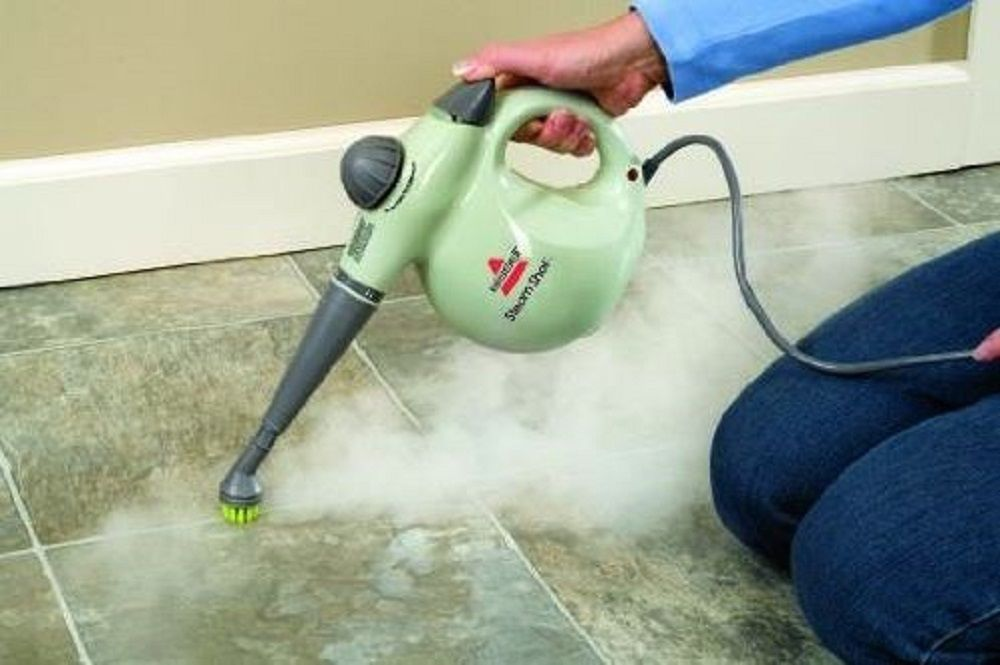 Hand Held Steam Cleaner Hard Surface Tile Grout No Chemical