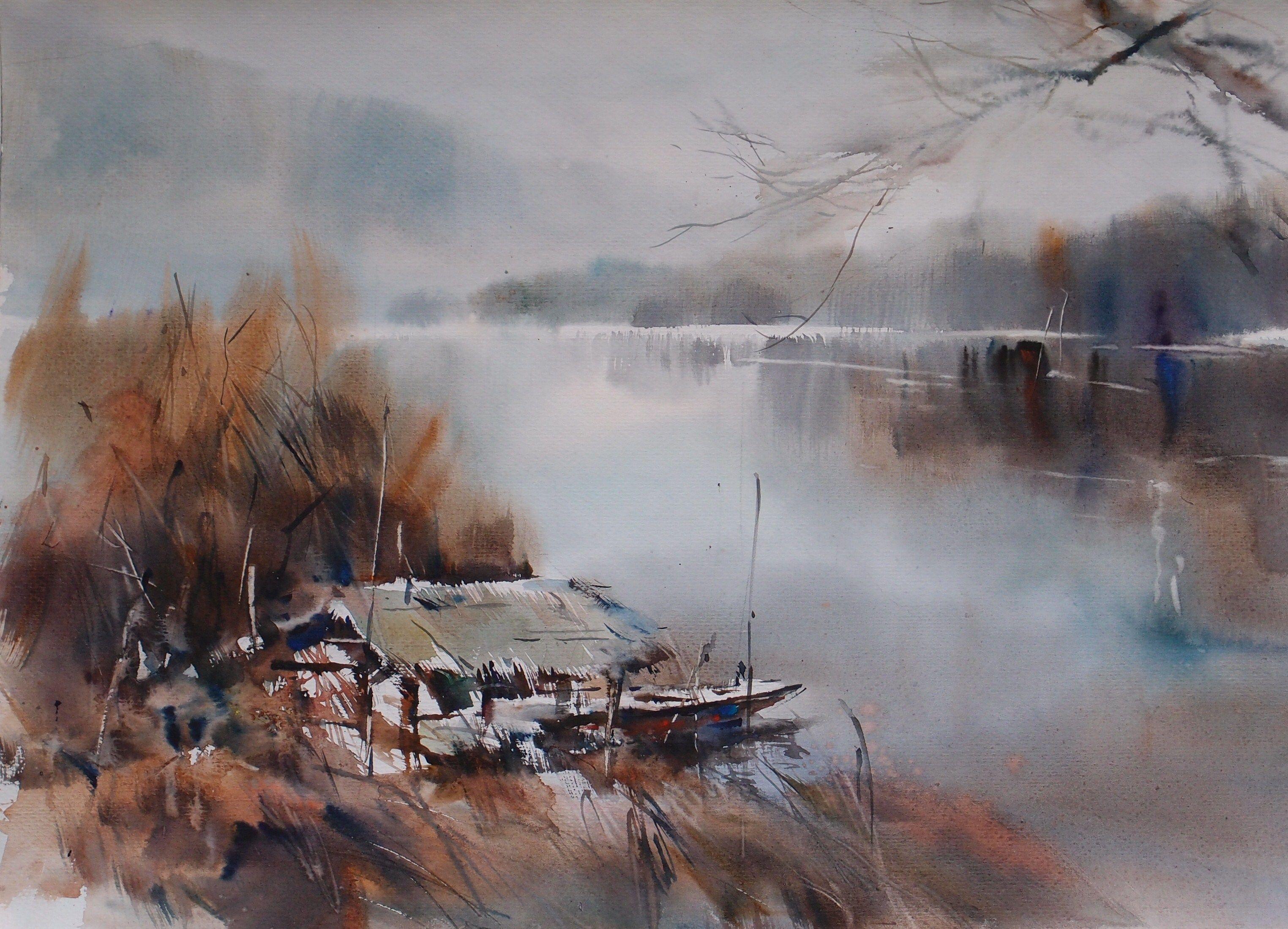 Watercolor artist magazine palm coast fl - Jean Claude Papeix