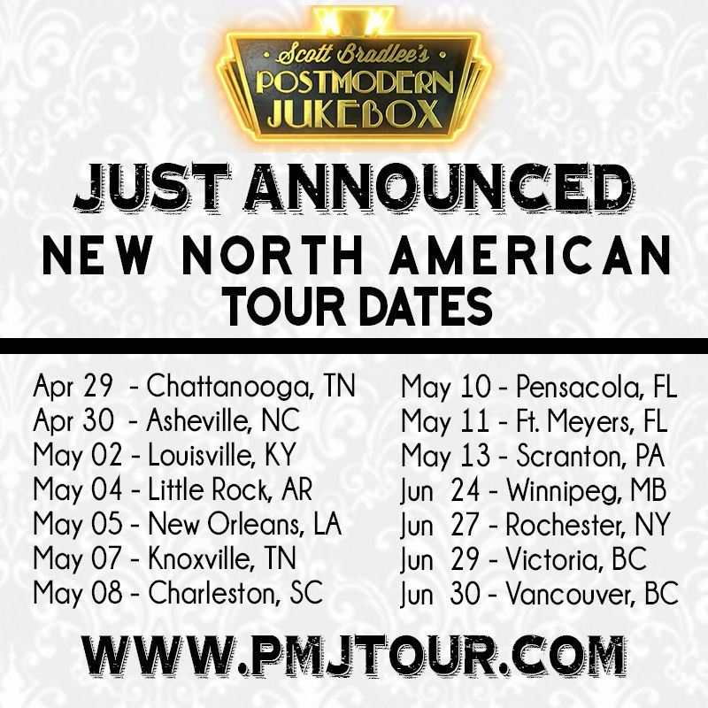 Just Announced New North American Tour Dates North American Jukebox Postmodernism