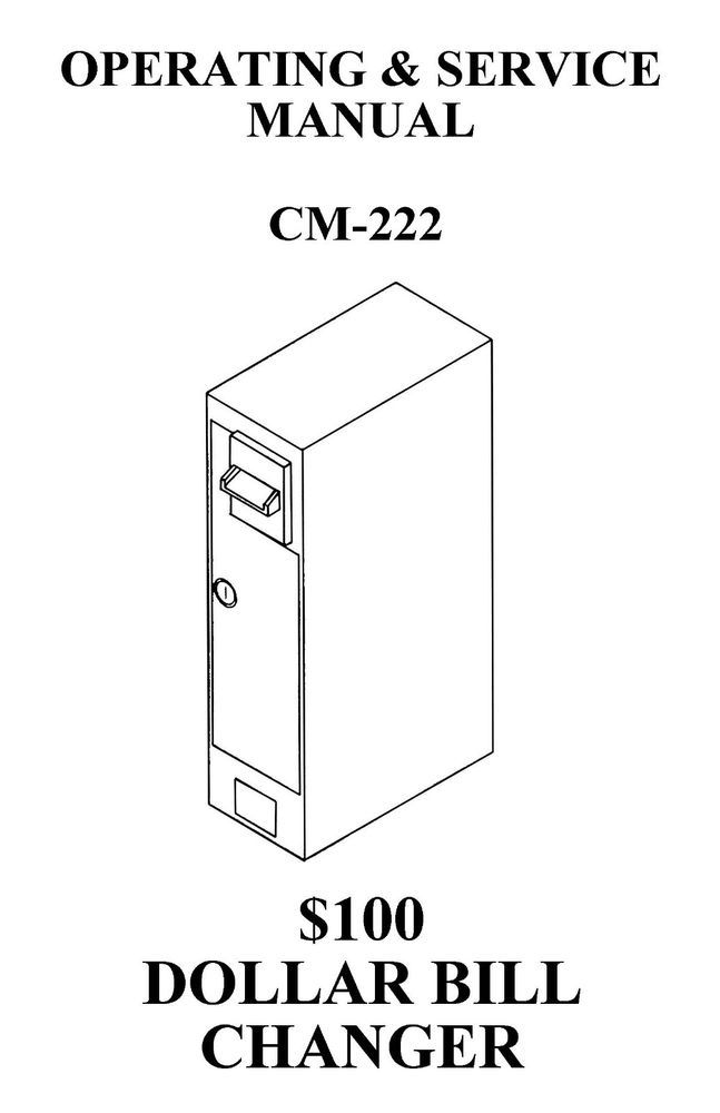Details about Antares Dollar Bill Changer, CM 222