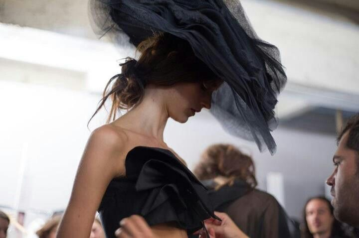 Paris Fashion weekday.