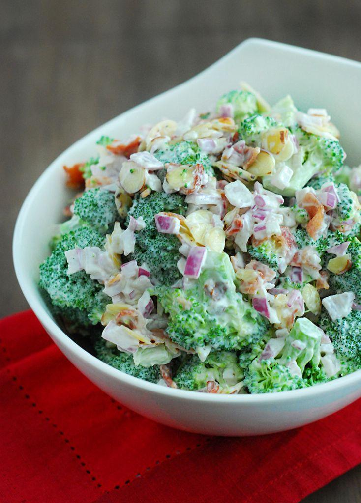 Broccoli Salad Low Carb Recipe Low Carb Broccoli Salad Low