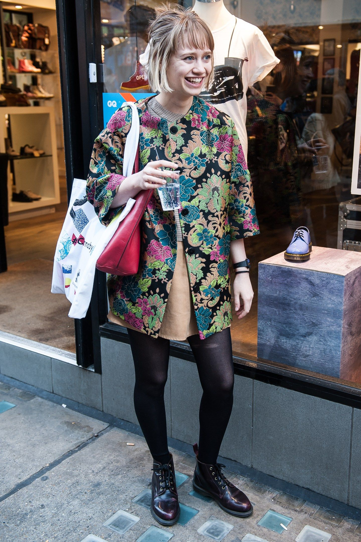GQ SHOPPING EVENT IN DR. MARTENS CARNABY STREET STORE ...