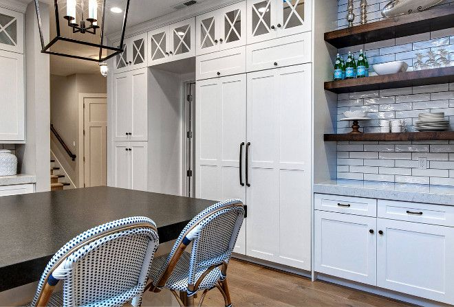 The Cabinet Paint Color Is Sherwin Williams Sw 7008 Alabaster