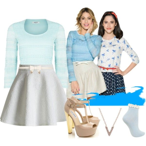 Look Like Violetta 3 By Stylewiktoria On Polyvore