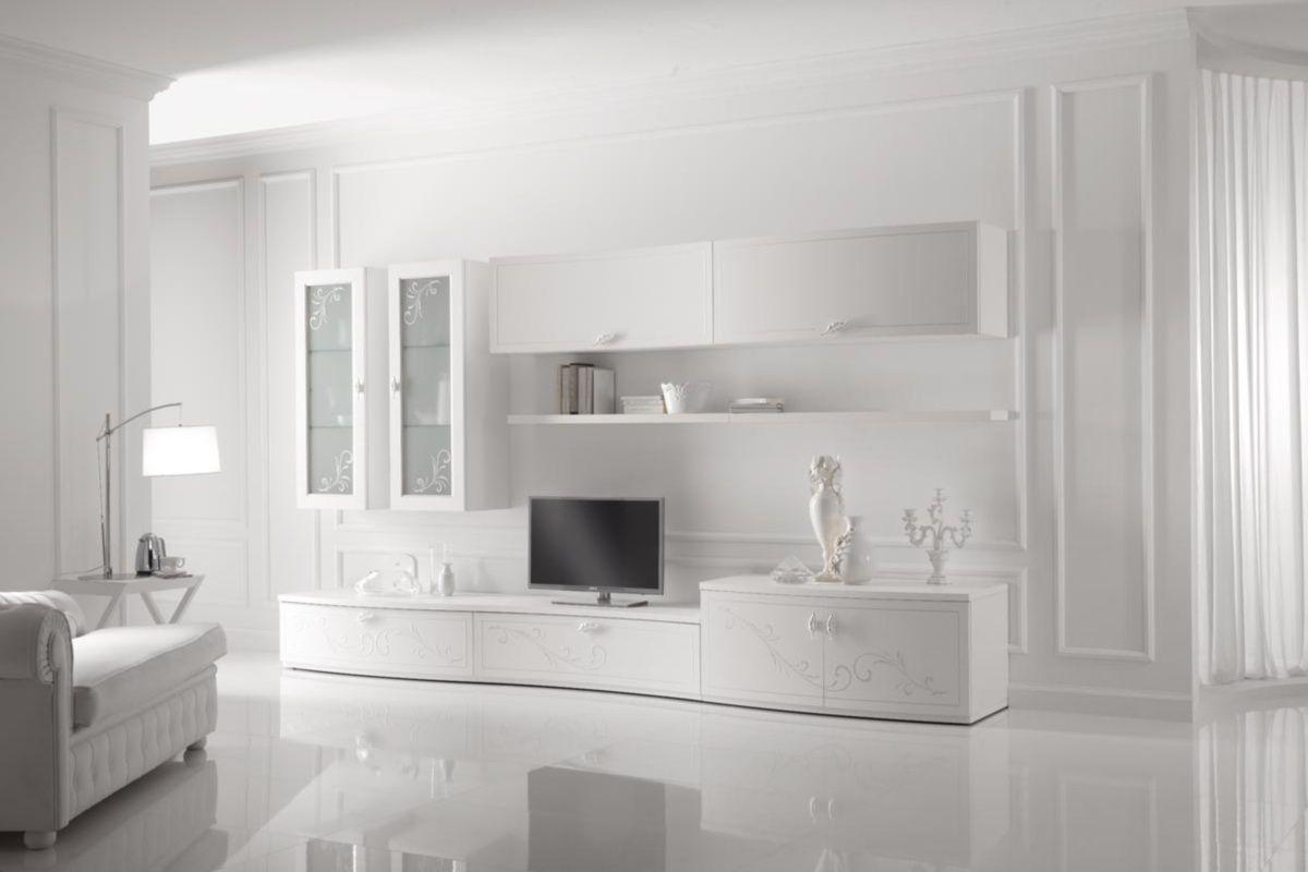 Soggiorno Spar ~ Parete attrezzata per soggiorno moderna in legno parete