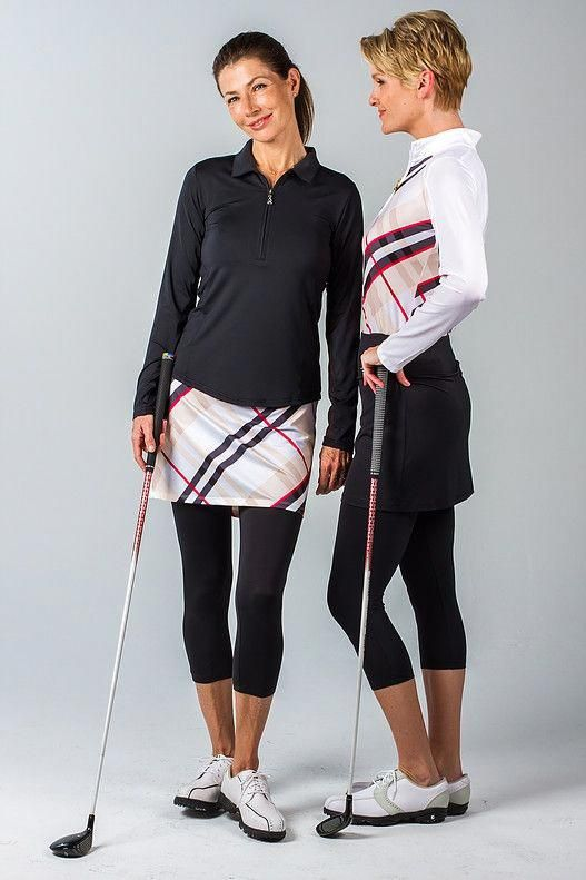 The one-piece SanSoleil Skorti (skirt + capri) is designed with SolCool technology fabric, as you he...
