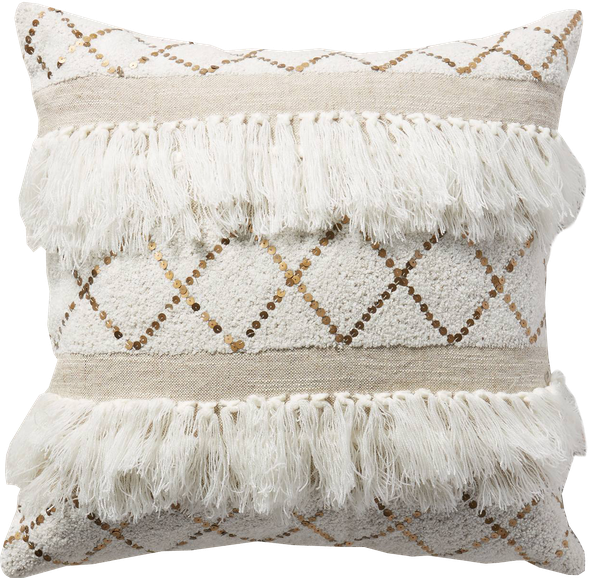 "Moroccan Wedding Pillow 18""- with insert - See more at…"
