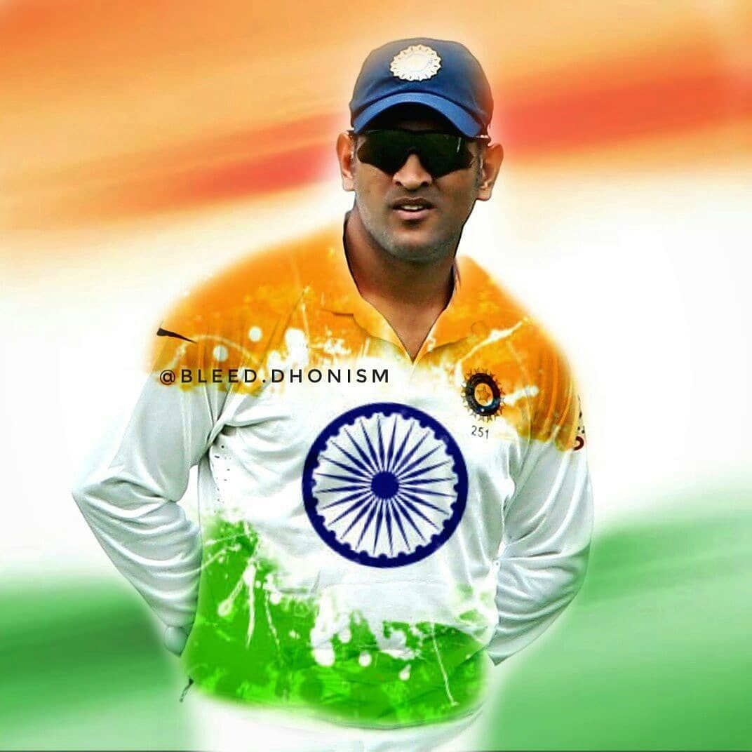 Happy Independence Day Everyone ! 🇮🇳❤   Ms dhoni wallpapers, Ms dhoni  photos, Cricket wallpapers