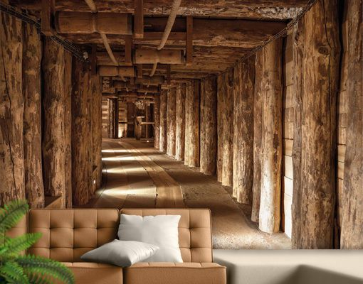 details about photo wall mural salt mine 400x280 wallpaper. Black Bedroom Furniture Sets. Home Design Ideas