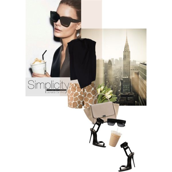 Summer City, created by magdafunk on Polyvore