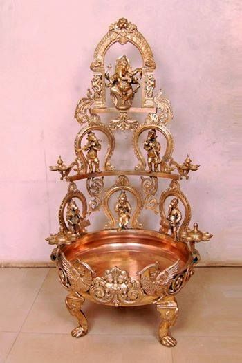 Pin by Chitra on Brass Pinterest Puja room Decoration and Room