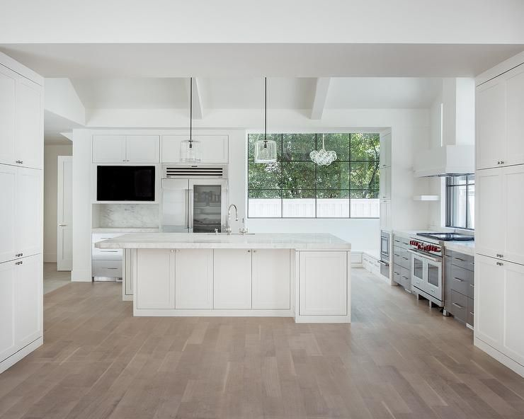 Some Tips To Clean And Care Of Modern White Kitchens With Wood