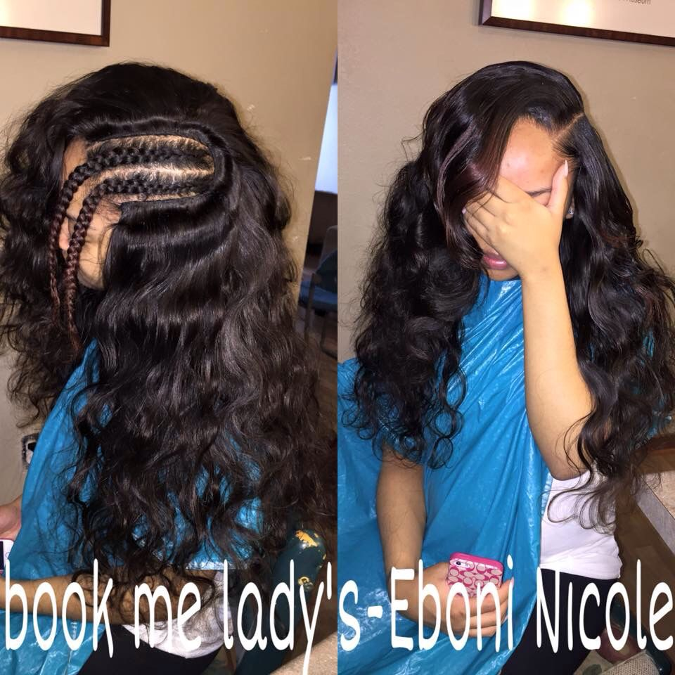 Side part sew in | Hair styles and looks in 2018 ...