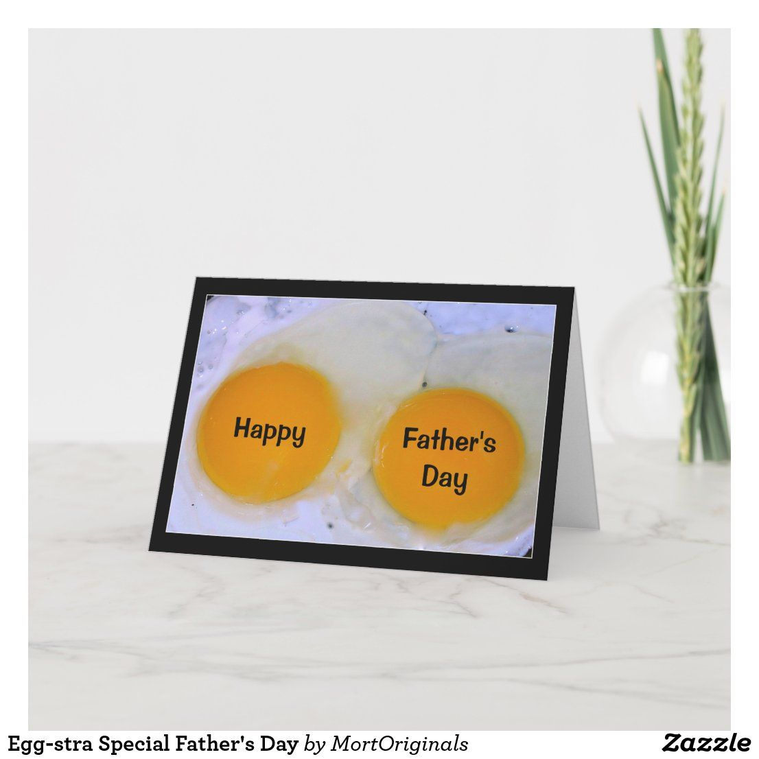 Egg-stra Special Father's Day Card