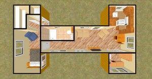 A good shape for the house design