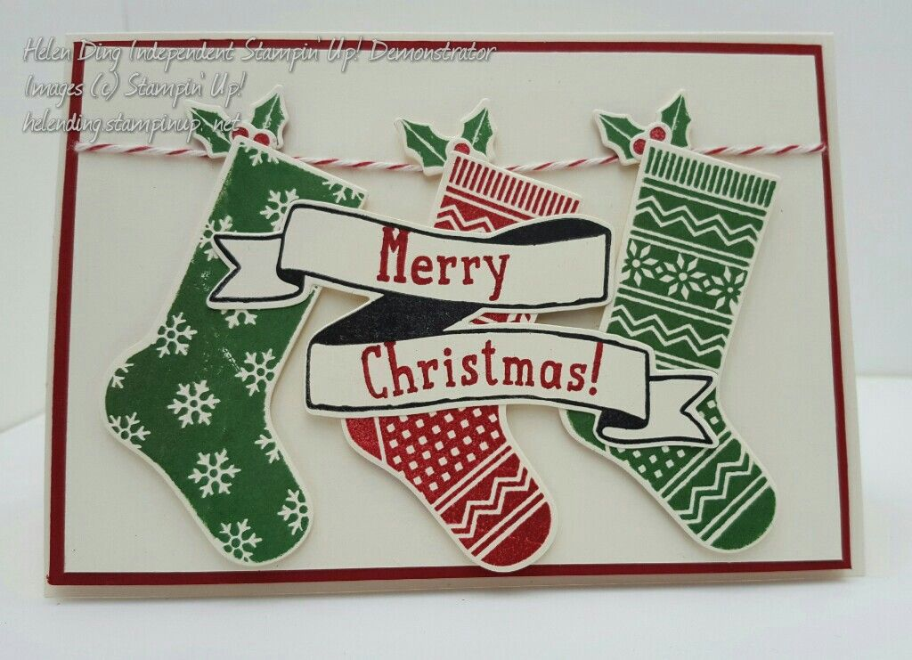Hang Your Stocking Stampin' Up!