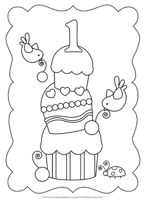 Style Me Gorgeous Free Colour In Happy Birthday Smg Birthday Coloring Pages Hand Embroidery Patterns Free Halloween Coloring Sheets