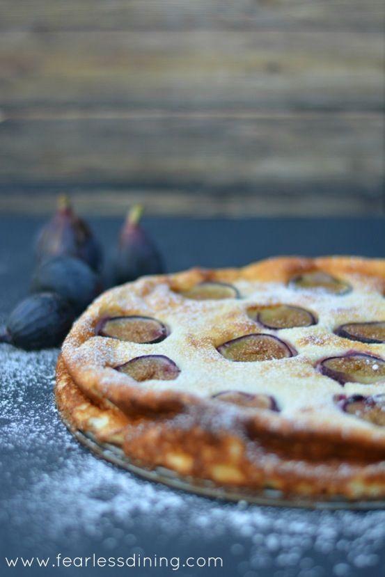 Gluten Free Turkish Fig and Yogurt Cake   http://www.fearlessdining.com  #glutenfree