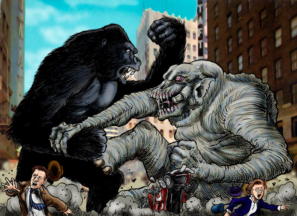 King Kong Vs Hulk Movie King Kong Vs Fr...