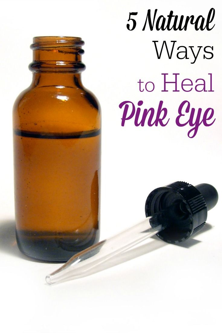 How To Heal A Pink Eye Naturally