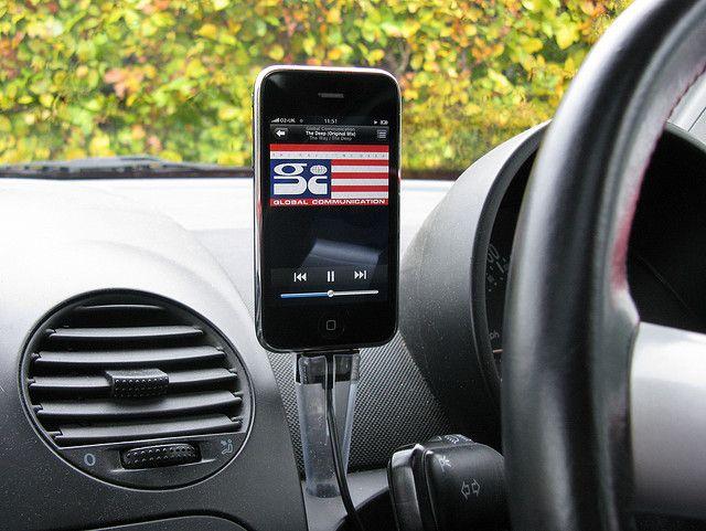 APPLE iPAD BLUE ACRYLIC CUSTOM STAND CRADLE iPHONE MP3