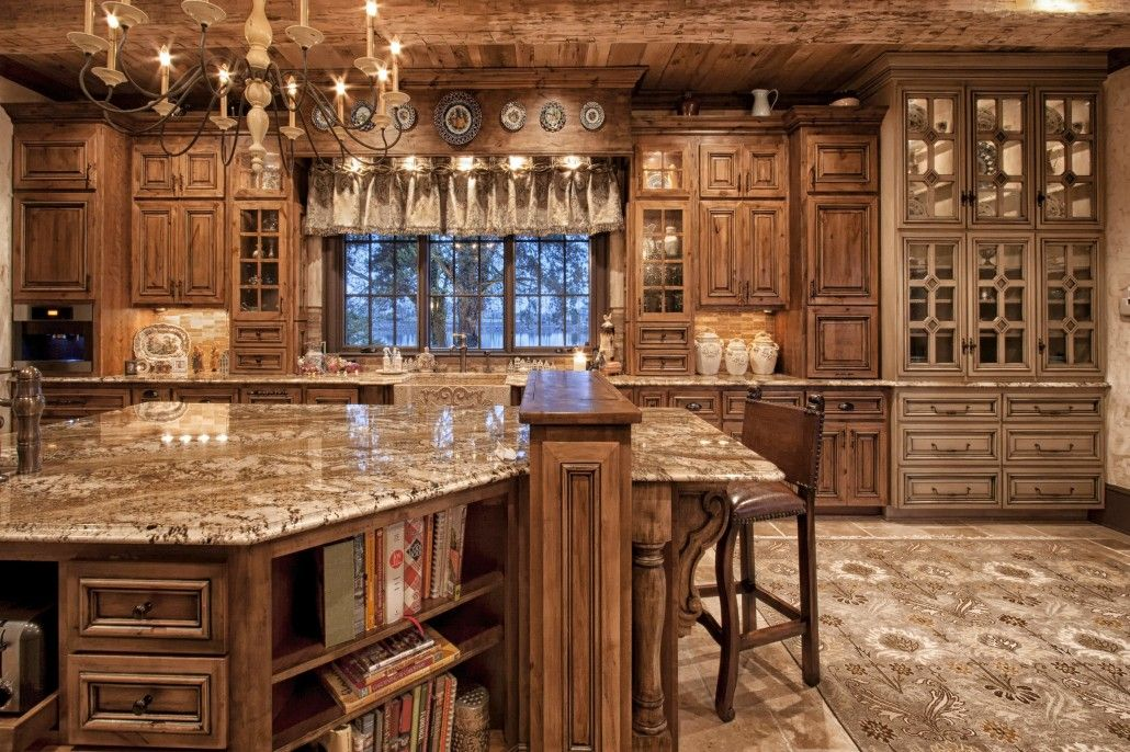 Walker Woodworking   Cabinets For Kitchens Love All The Different Types Of  Woods, Makes This · Old World ...