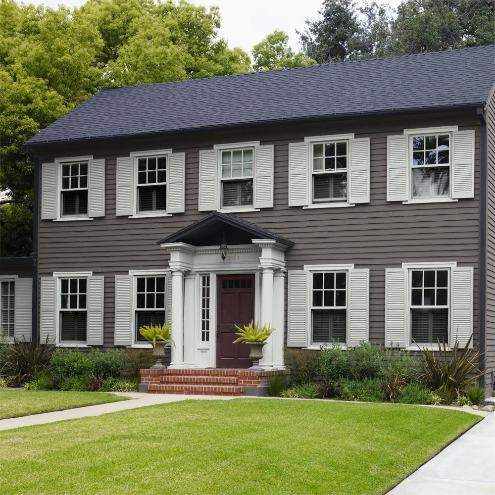 pin by dawn dorf on home exterior in 2020 house on home depot paint colors exterior id=13757