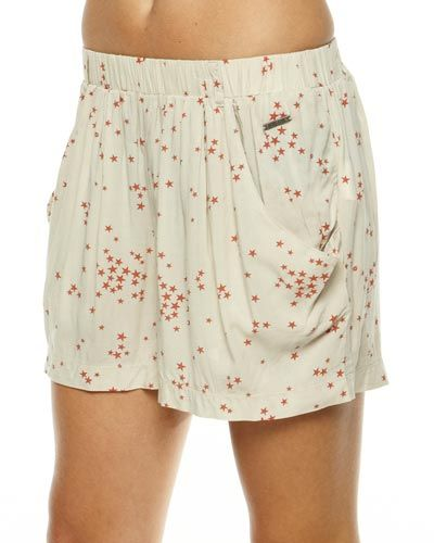 TWO SEASONS - LADIES - SKIRTS - MINI SKIRTS - RACQUET SKIRT BY BILLABONG IN NATURAL