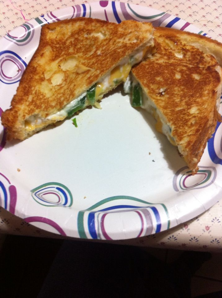 Made the cream cheese jalapeño popper grill cheese turned out amazing! GO FIND THIS AND TRY IT!