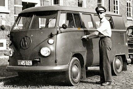 vw t1 military | VW T1 M231 - Danish Army Vehicles Homepage