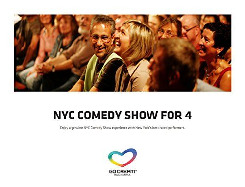 Comedy Show Stand up for 4 persons in New York Experience Gift ...