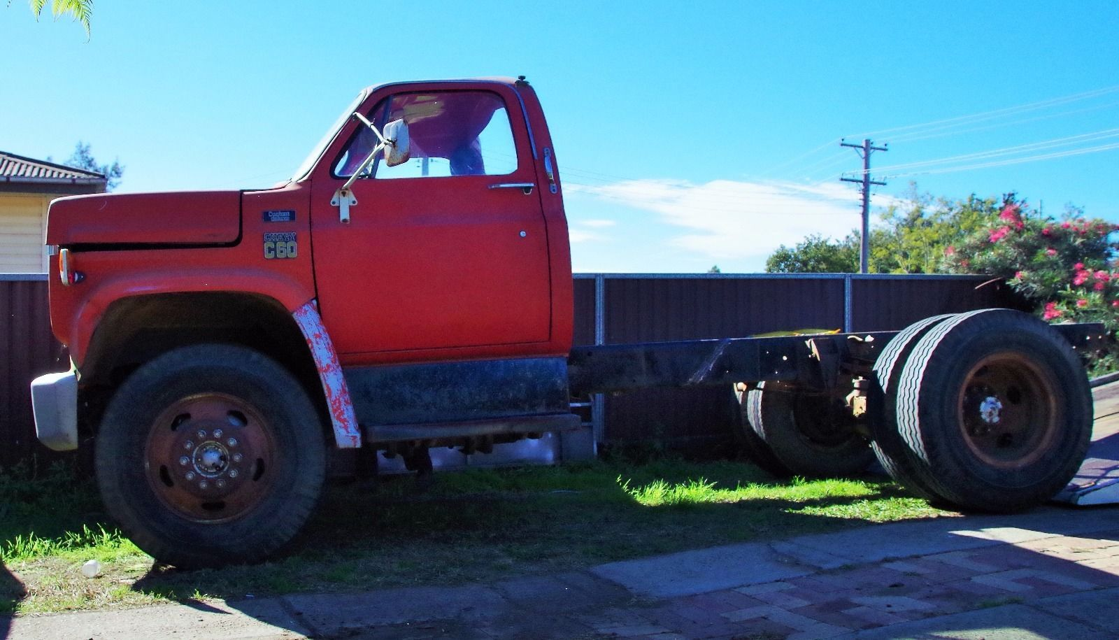 1978 chevy c60 truck with a shortened chassis this was the heaviest truck available from