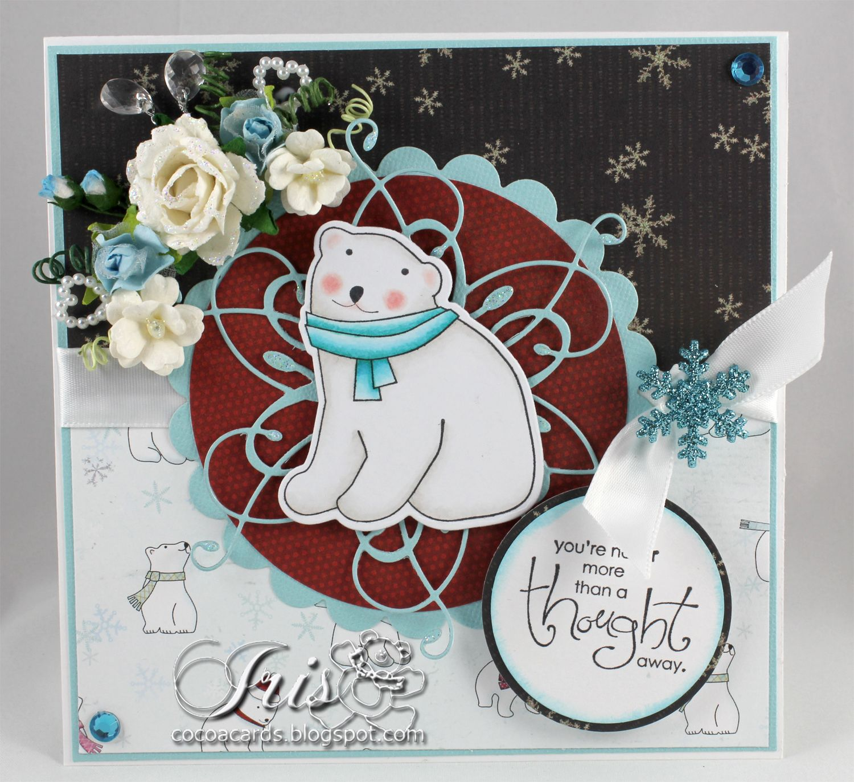 Cute Little Polar Bears Some Dt News Paper Crafting Polar Bear