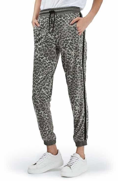 71653ad723e2 Topshop Leopard Print Jogger Pants | Pants | Jogger pants, Leggings ...