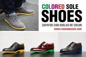 Resultado de imagen para zapatos con suelas de colores