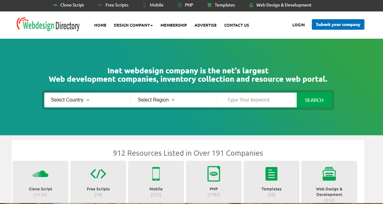Web Directory List Web Design Web Design Company Web Development Design