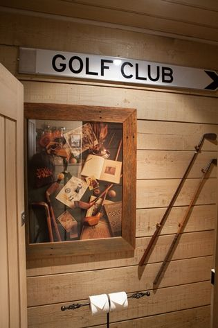 One Of Our Golf Themed Bathrooms Donovans