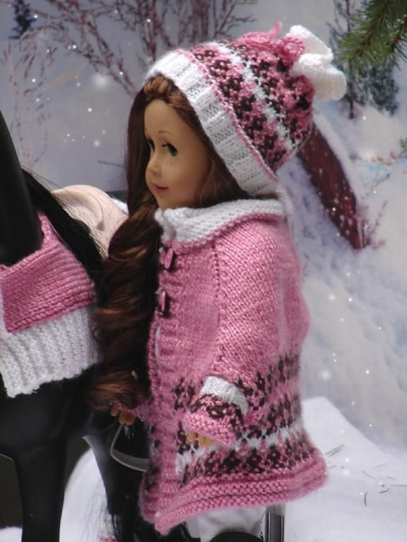 Denali Cape set for American Girl Dolls | Puppenkleidung ...