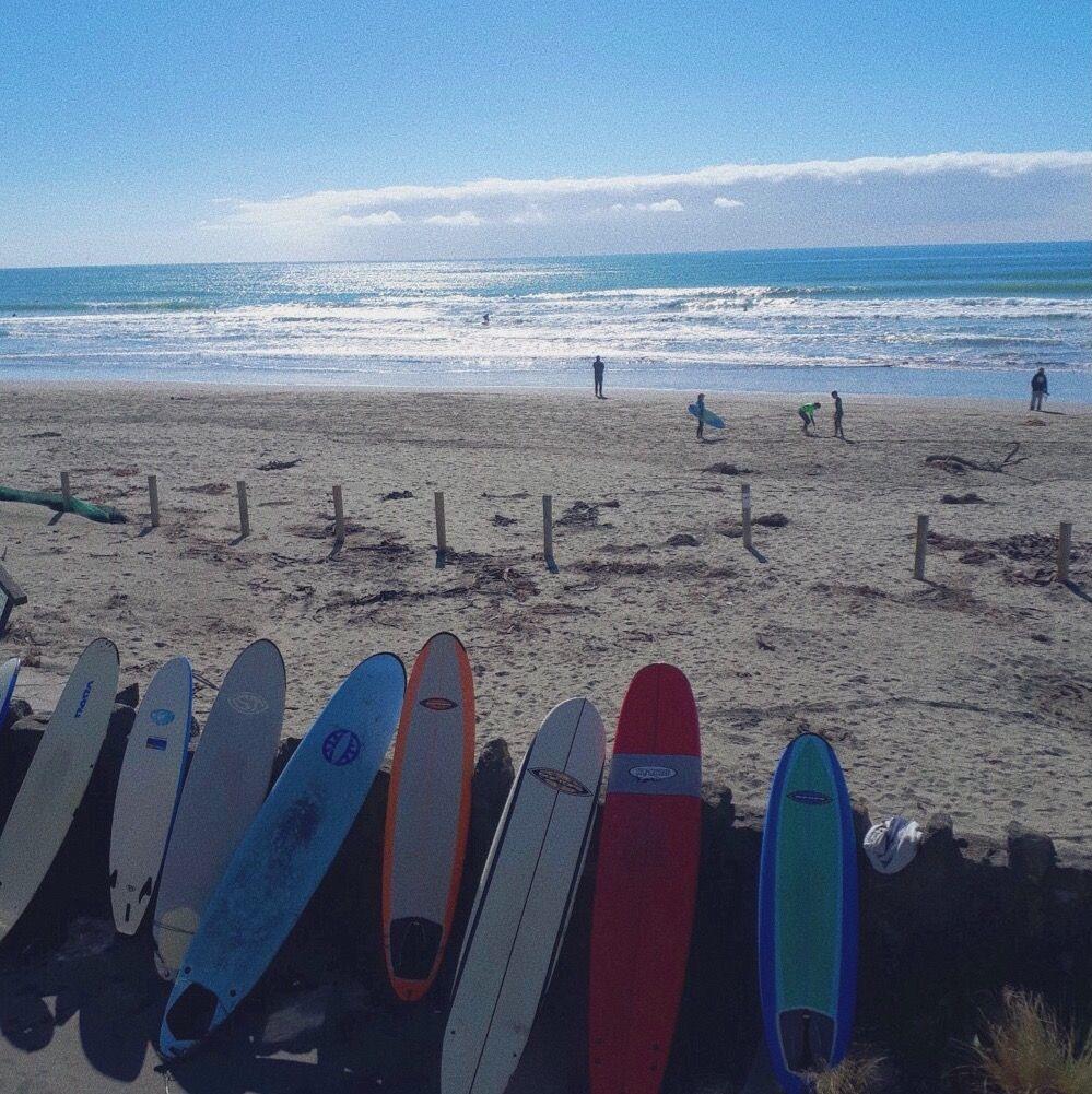 Christchurch Newzealand Beach Surfboard Comp Champion Northwai Jorjasteele Nature Sunny New Brighton Beach Surfing New Brighton
