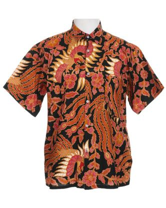 Oriental Short sleeved Shirt