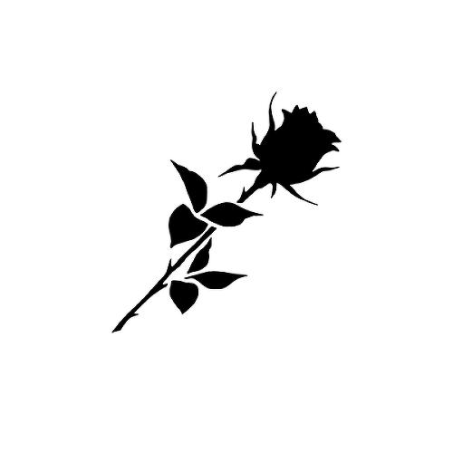 Noir Tattoo Semi Permanent Tattoos By Inkbox Black Flowers Tattoo Rose Tattoos For Men Black Rose Tattoo For Men