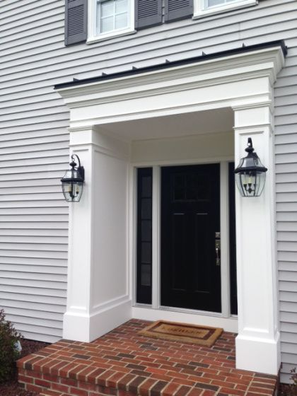 5 Great Ideas To Upgrade Your Front Entryway Cbs Philly Front Door Trims Exterior Entryway Ideas Exterior Front Doors