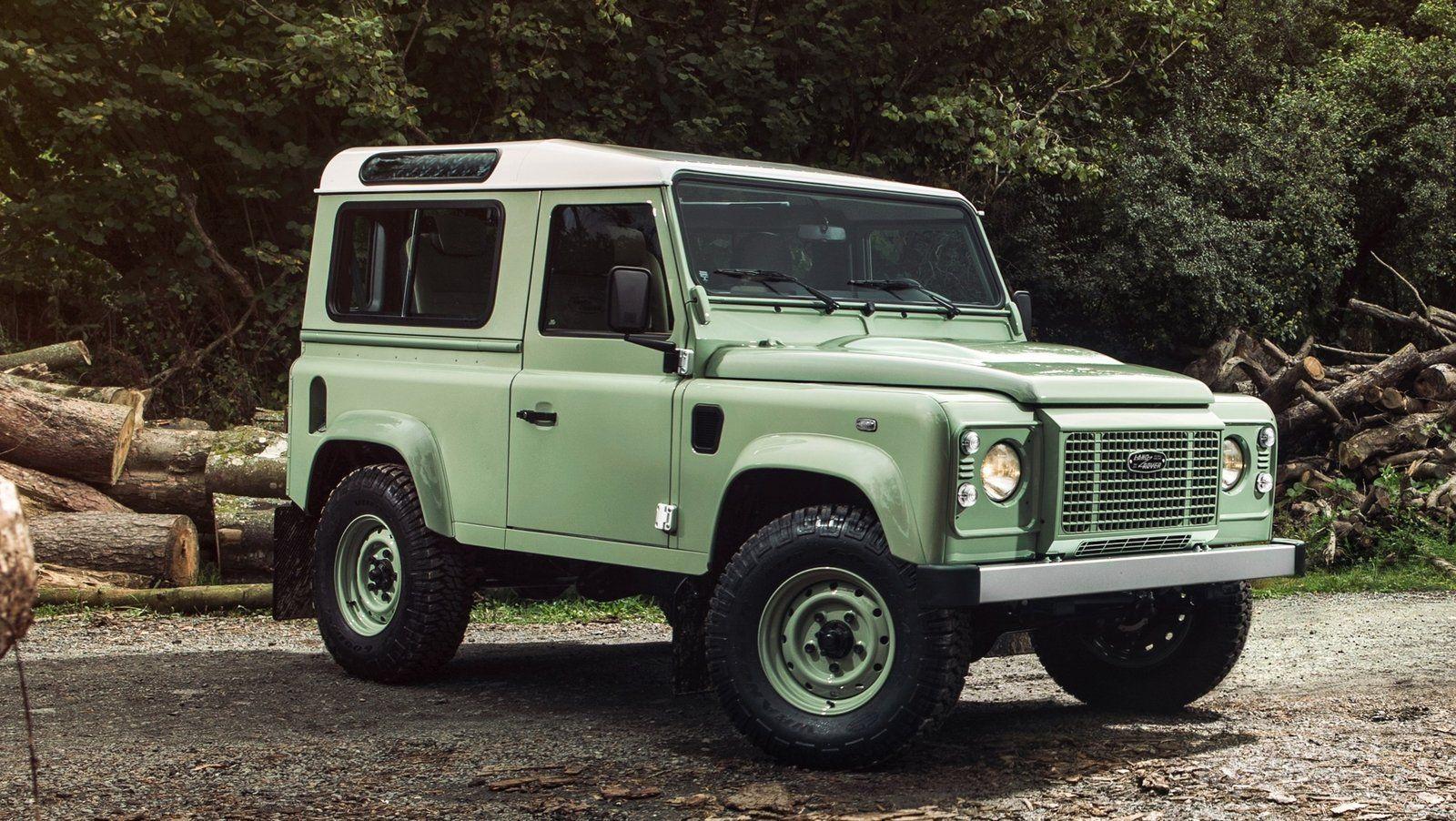 2015 Land Rover Defender Heritage Edition Gallery 609175
